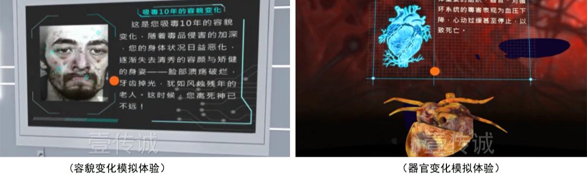 VR毒品容貌变化 VR毒品器官变化
