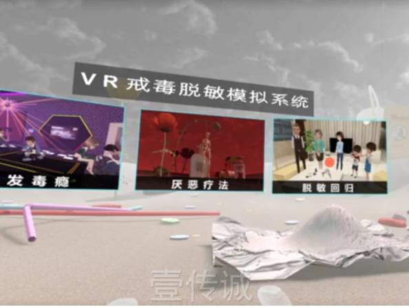 VR戒毒脱敏——脱敏回归