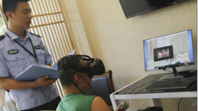 VR戒毒系统以互动实操的方式辅助戒毒