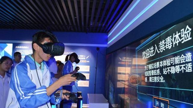 """体验""""真实""""的VR禁毒教育,让毒品远离青少年"""