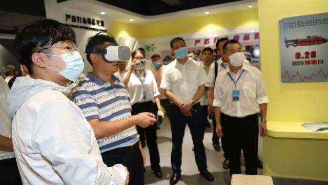 利用VR技术认清毒品的危害,自觉抵制诱惑